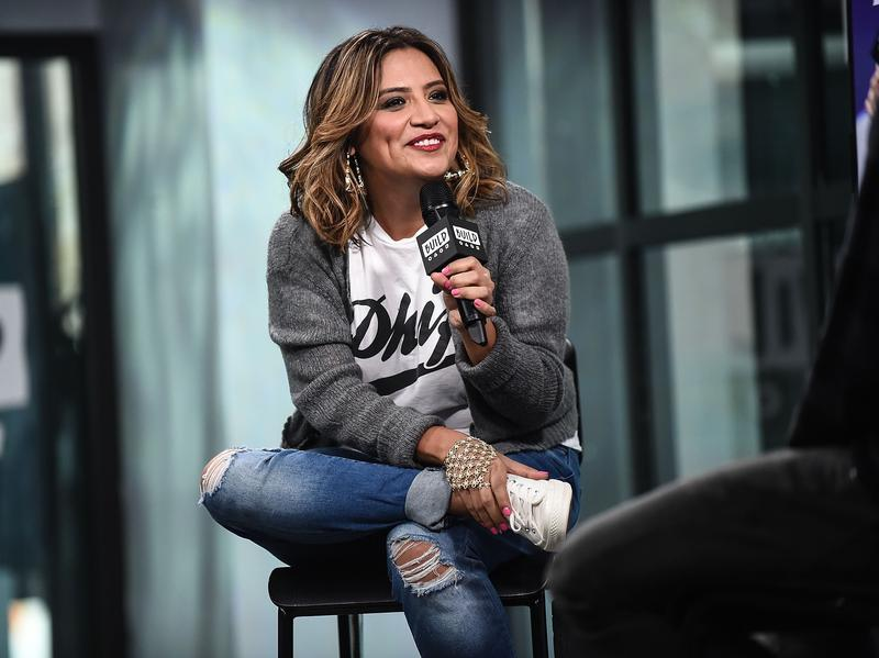 """Comedian Cristela Alonzo discusses her role in her new Netflix special, """"Lower Classy"""" at Build Studio in New York City on January 19."""
