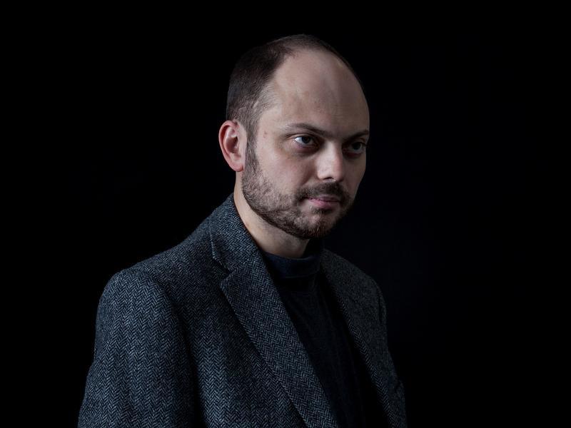 Russian opposition activist Vladimir Kara-Murza says he was poisoned twice; he blames the Kremlin.