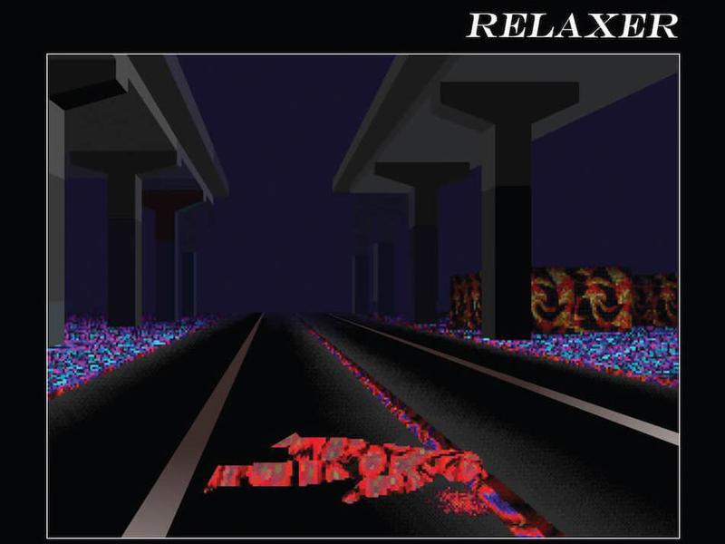 Cover art for Alt-j's third album <em>Relaxer.</em>