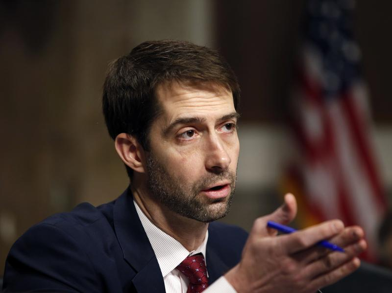 Sen. Tom Cotton, R-Ark., is one of three GOP senators seeking an investigation into six-figure annual costs for drugs intended to treat rare diseases.
