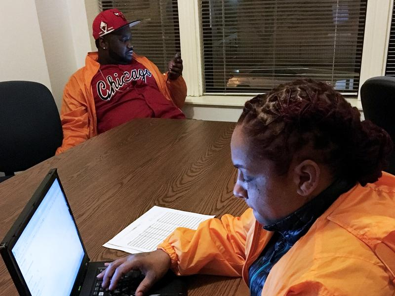 Jerusha Hodge is among the handful of CeaseFire outreach workers who work to curtail violence in three South Side Chicago neighborhoods.  Hodge says shootings are down in the areas where CeaseFire has a presence.