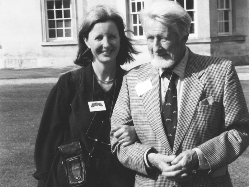 """Keggie Carew — seen here with her father, Tom Carew — says, """"It was never mundane with dad, even with dementia."""""""