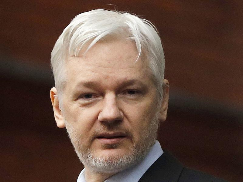 WikiLeaks founder Julian Assange held a news conference Thursday that was livestreamed from the Ecuadorean Embassy in London.