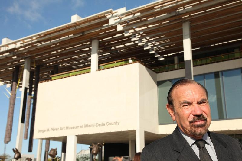 Jorge M. Pérez, founder, Chairman and CEO of The Related Group, attends the Pérez Art Museum Miami ribbon cutting ceremony in December 2013 in Miami. (Omar Vega/Invision/AP)