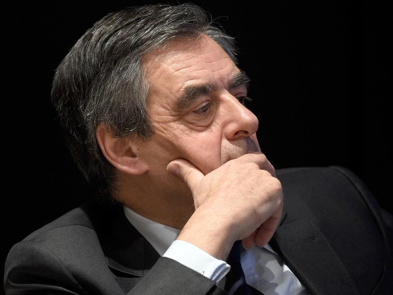 Conservative French presidential candidate Francois Fillon during a visit to the Konrad Adenauer Foundation in Berlin in January.