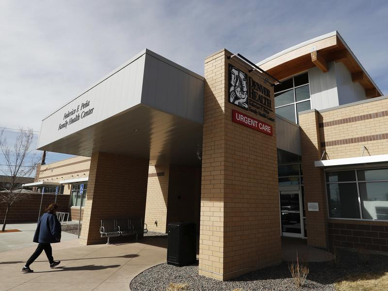 Denver Health Medical Center's primary care clinic is located in a low-income neighborhood in southwest Denver. The recent expansion of Medicaid, which serves low-income Americans as well as the elderly and people with disabilities, would be rolled back under the new Republican health care plan.