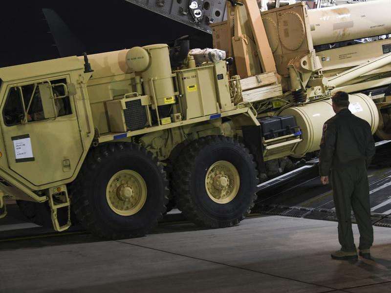 The U.S. has begun deploying the Terminal High Altitude Aerial Defense - THAAD - an anti-missile system meant to defend South Korea against attacks from the North. The first components arrived in South Korea last week.