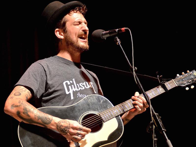 Frank Turner performs on <em>Mountain Stage</em> this week.