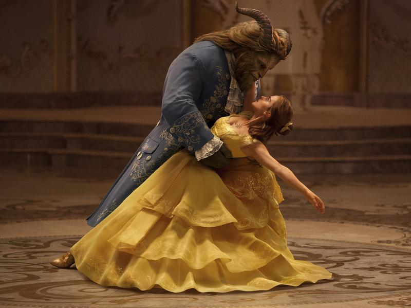 Emma Watson and Dan Stevens star in Disney's new live-action adaptation of <em>Beauty and the Beast.</em>