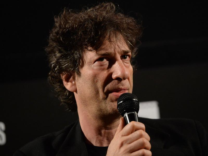 Writer Neil Gaiman attends a screening of <em>Coraline</em> during the Entertainment Weekly CapeTown Film Festival at the Egyptian Theatre on May 5, 2013.