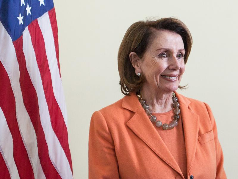 House Minority Leader Nancy Pelosi says the proposed Republican health bill would lead to an enormous transfer of wealth from poorer Americans to richer ones.