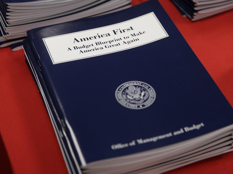 """President Trump's """"America First"""" budget blueprint was released on Thursday."""