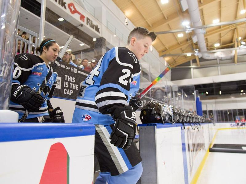 Harrison Browne, hockey player for the Buffalo Beauts and the first openly transgender athlete, announces his retirement.
