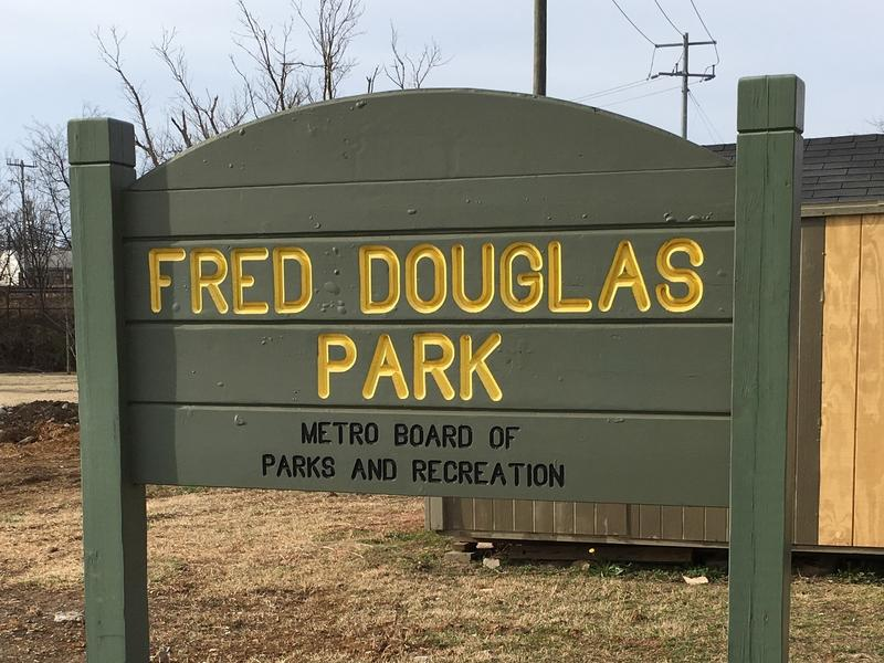 For nearly 80 years, this sign misspelled the name of famous abolitionist Frederick Douglass.