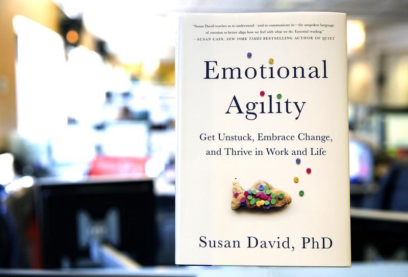 """""""Emotional Agility,"""" by Susan David. (Robin Lubbock/WBUR)"""