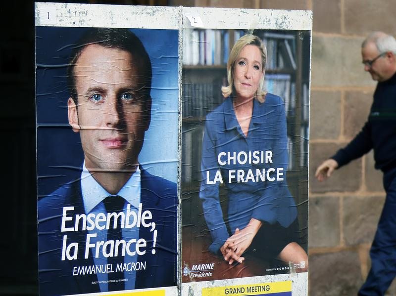 Emmanuel Macron Declared French President In Early Vote Counts