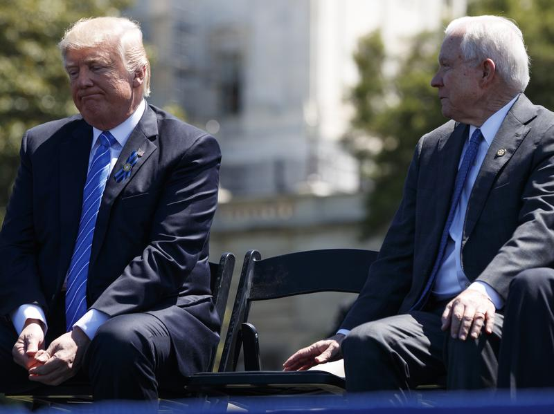 Jeff Sessions had one hell of a bad week