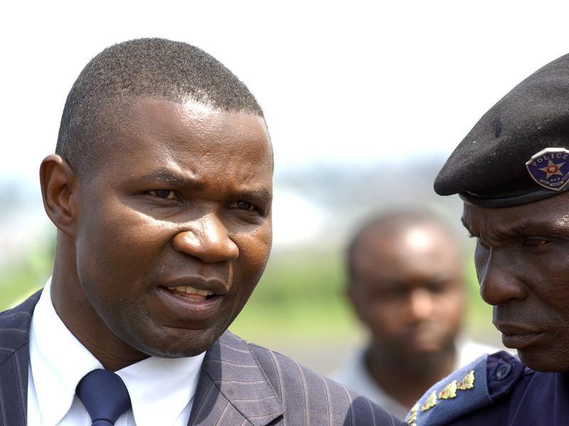 The governor of North Kivu Julien Paluku.