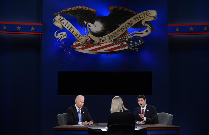 Joe Biden and Paul Ryan debate in Danville, Kentucky