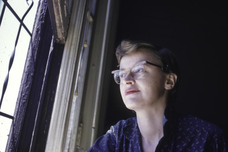 Connie Converse in New York, sometime in the 1950s