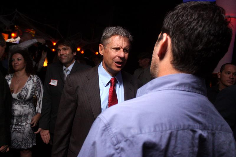 Libertarian nominee Gary Johnson