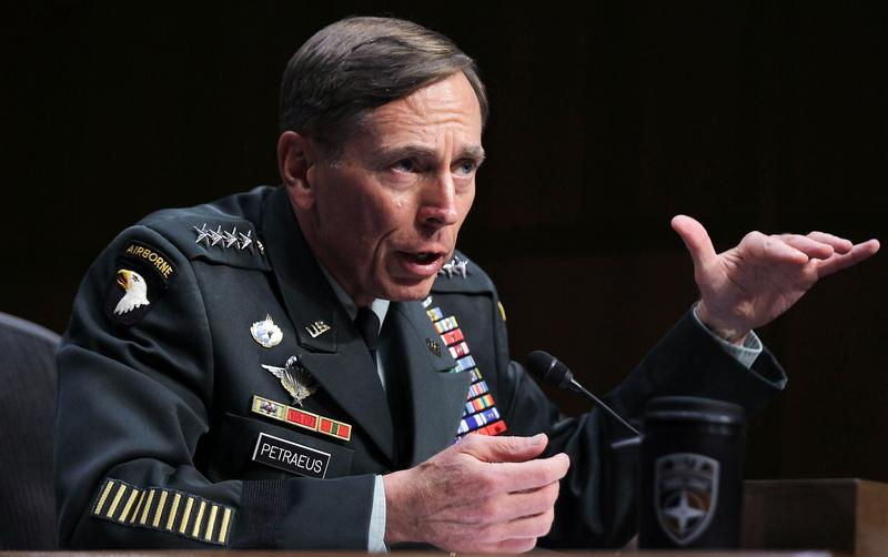 David Petraeus speaks during his CIA Director confirmation hearing before the Senate Intelligence Committee June 23, 2011.