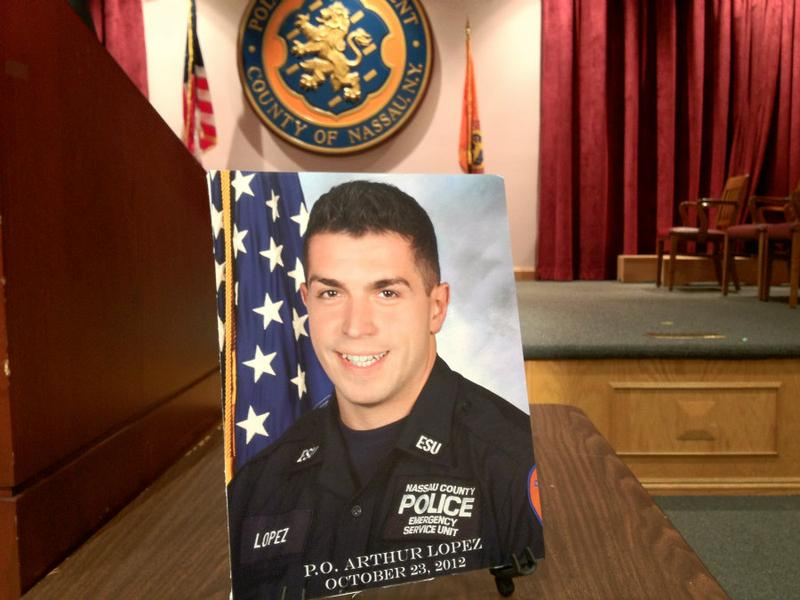 ESU Police Officer Arthur Lopez, who served for 8 years, was killed in the line of duty.