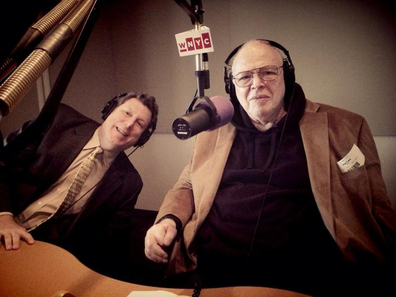 Radio Legends Phil Schaap of WKCR and Bob Fass of WBAI in the WNYC studios