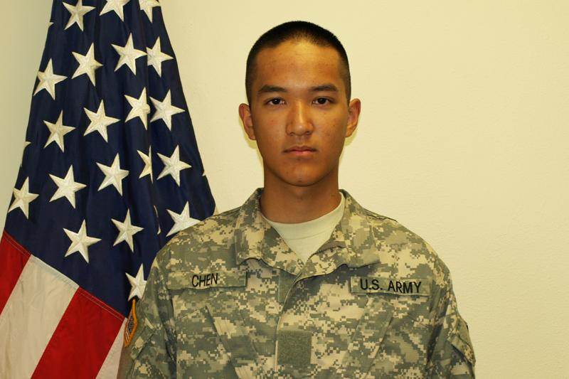 Pvt. Danny Chen, 19, entered the army in 2011 and apparently killed himself in Kandahar, Afghanistan in Oct. 2011. Eight face charges related to his death.
