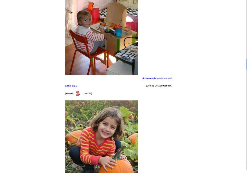 Photos on the family's Livejournal.com page show the kids on family vacations, sharing birthdays and picking pumpkins.