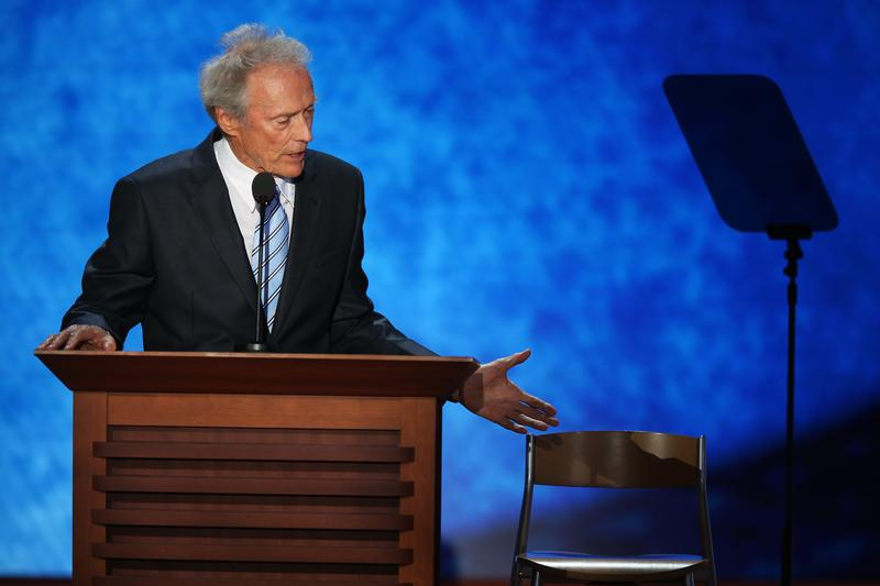 Clint Eastwood at the Republican National Convention in Tampa
