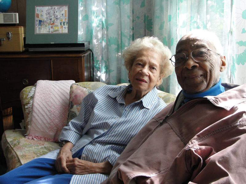 Dr. John Cordice and his wife Marguerite. Dr. Cordice performed life-saving surgery in 1958 on Dr. Martin Luther King Jr. after the civil rights leader was stabbed in the chest in Harlem.