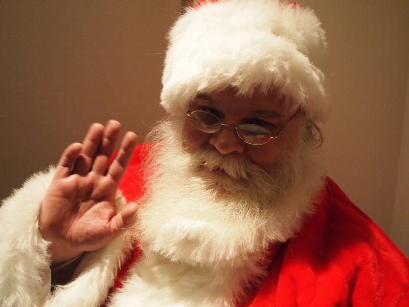 Alex Roshuk is Santa Claus