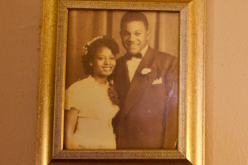 Virgie and Walter Alston, the first generation of Alstons to move to the Queensbridge Houses in 1954.