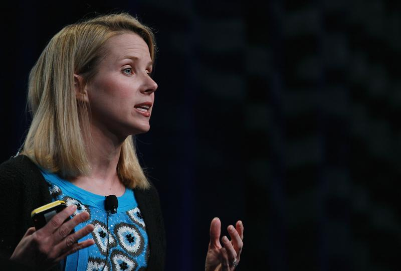 Marissa Mayer speaks during an announcement September 8, 2010 in San Francisco, California.