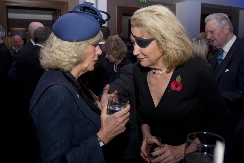 Camilla, Duchess of Cornwall speaks with Marie Colvin of The Sunday Times.