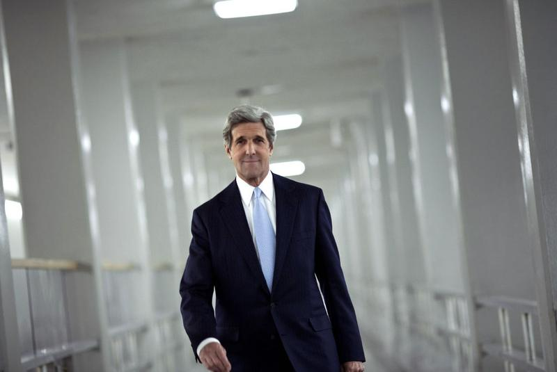 Secretary of State John Kerry, then a Senator, on December 19, 2010.