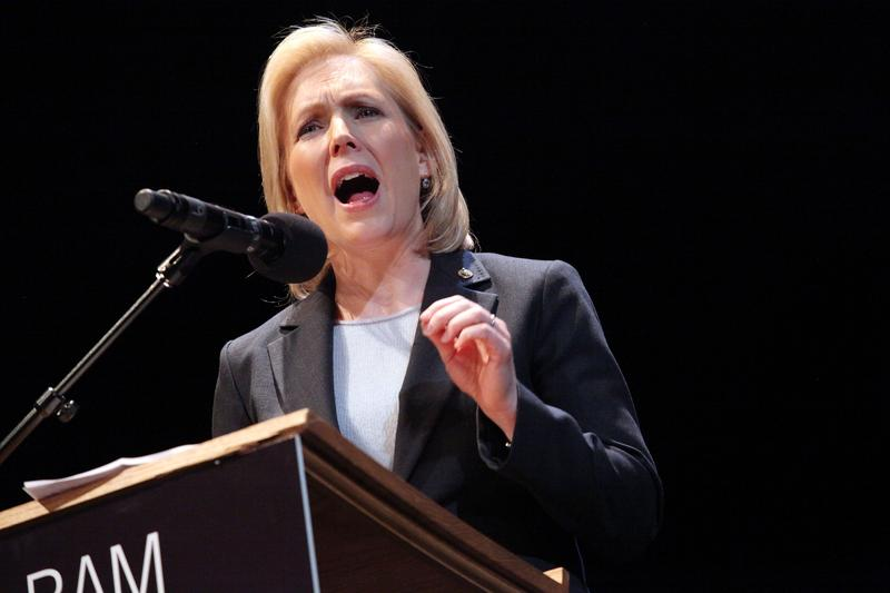 NY Senator Kirsten Gillibrand attends the 25th annual Brooklyn tribute to Martin Luther King Jr. at BAM Howard Gilman Opera House on January 17, 2011.