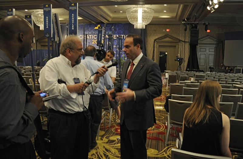 WNYC's Bob Hennelly speaks with state Democratic Party Chairman Jay Jacobs.