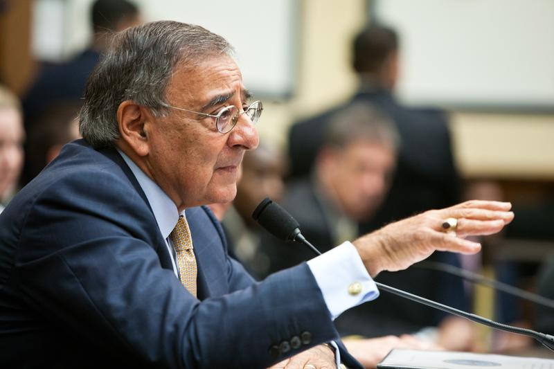 Secretary of Defense Leon Panetta testifies before the House Committee on Armed Services.