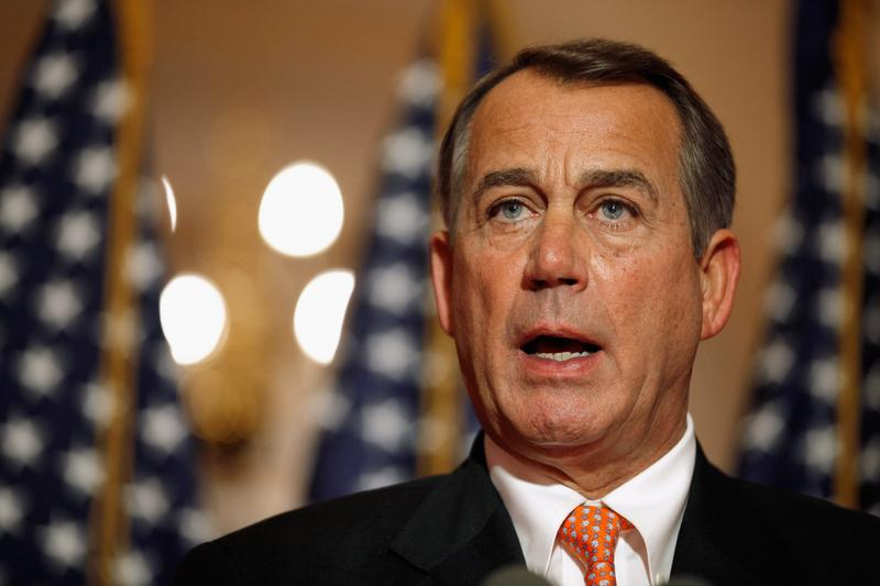 John Boehner answers questions on the payroll tax vote.