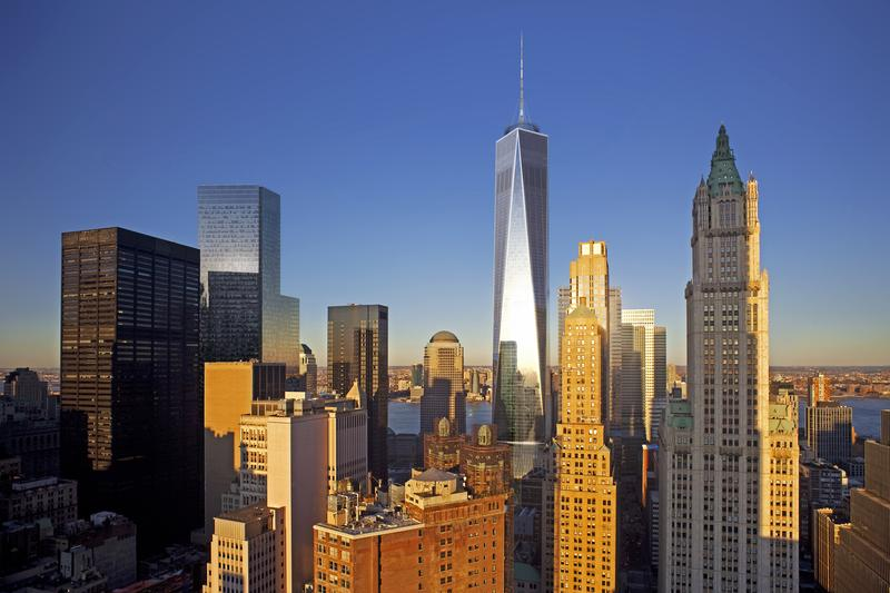 New renderings of 1 World Trade Center released on August 7, 2012.