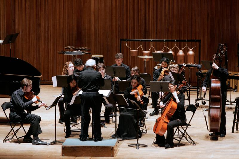 Joel Sachs and the New Juilliard Ensemble