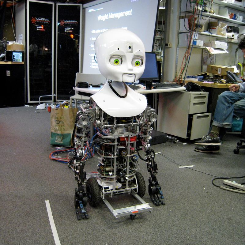 "This ""MDS"" robot is a project of the Personal Robots Group at the MIT Media Lab"
