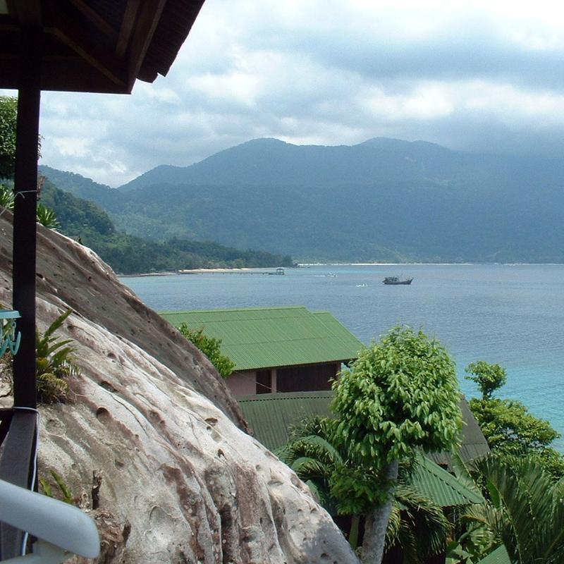 View from Tioman Island, Malaysia