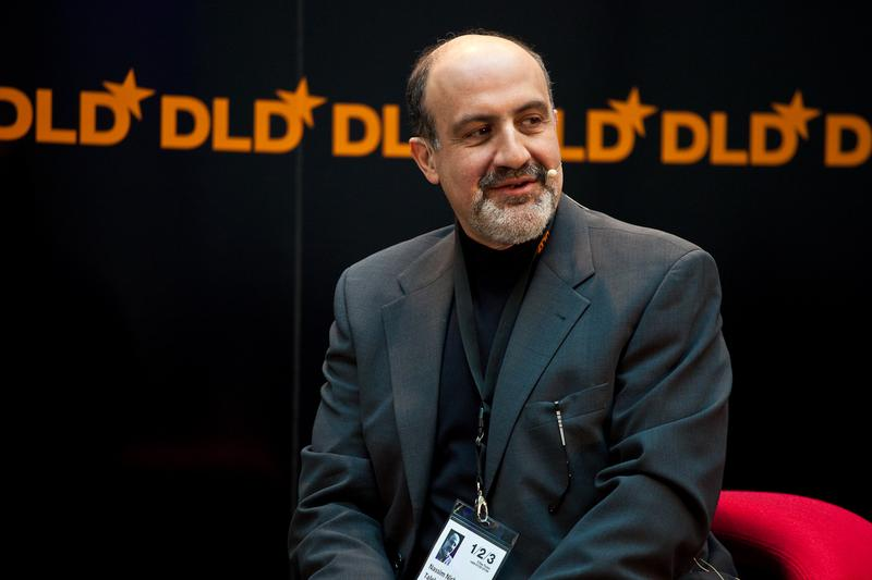 Nassim Taleb, in January, 2009