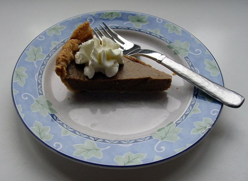 Sweet Potato Pie from a Pillsbury Recipe