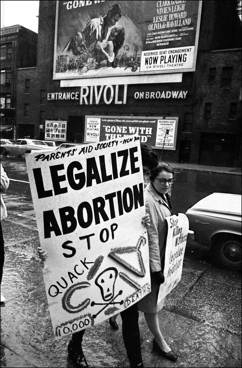 Abortion Rights Demonstration, 1968