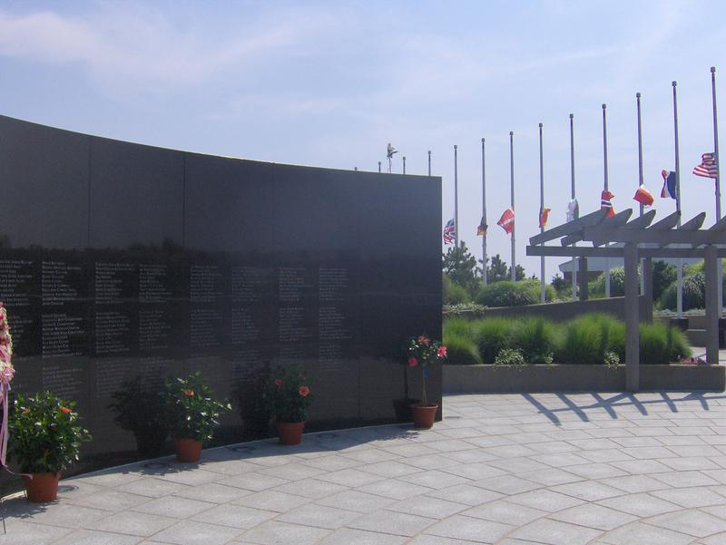 TWA Flight 800 International Memorial at Smith Point County Park in Shirley, New York