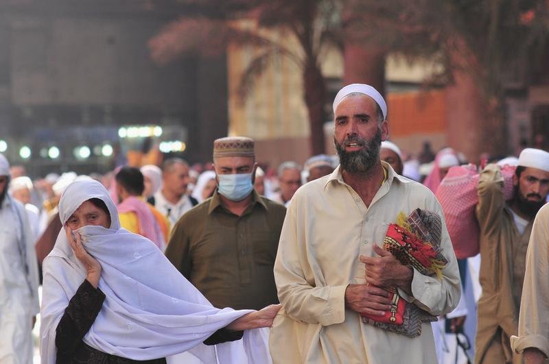 Several pilgrims in Saudi Arabia making the Hajj (November 11, 2010)